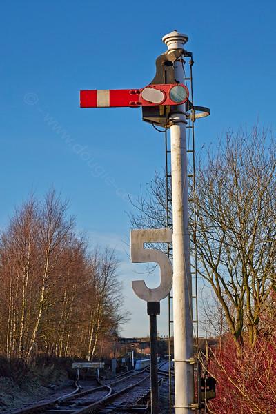 Semaphore Signal at Manuel Station - 28 December 2014