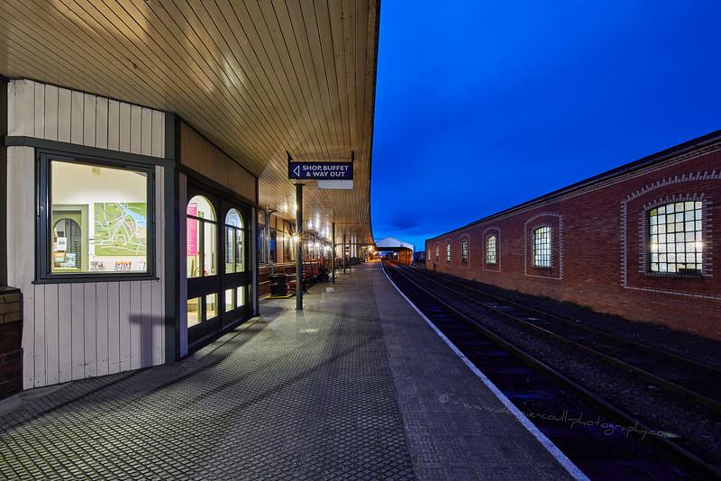Bo'ness Station - 25 October 2015