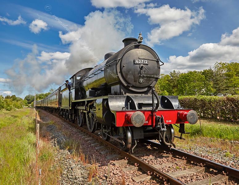 'Morayshire' at Bo'ness - 30 May 2015