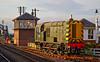 0-6-0 Class 08 Shunting Locomotive (D3558) at Bo'ness Station - 15 November 2014