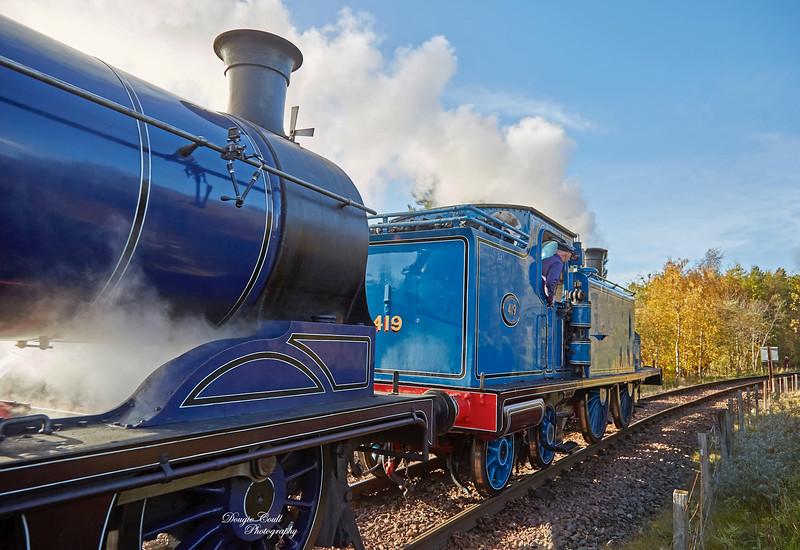 Bo'ness and Kinneil Railway - 4 November 2018
