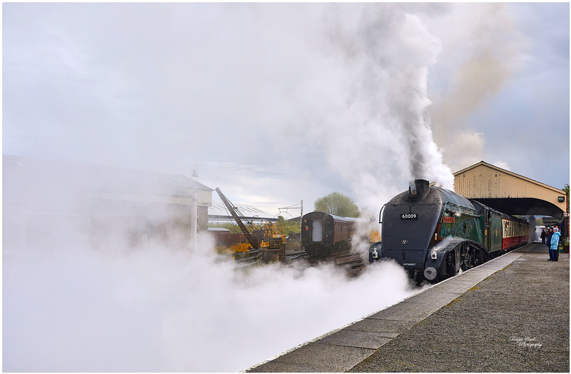 LNER Class A4 4488 Union of South Africa at Bo'ness Station - 6 May 2019