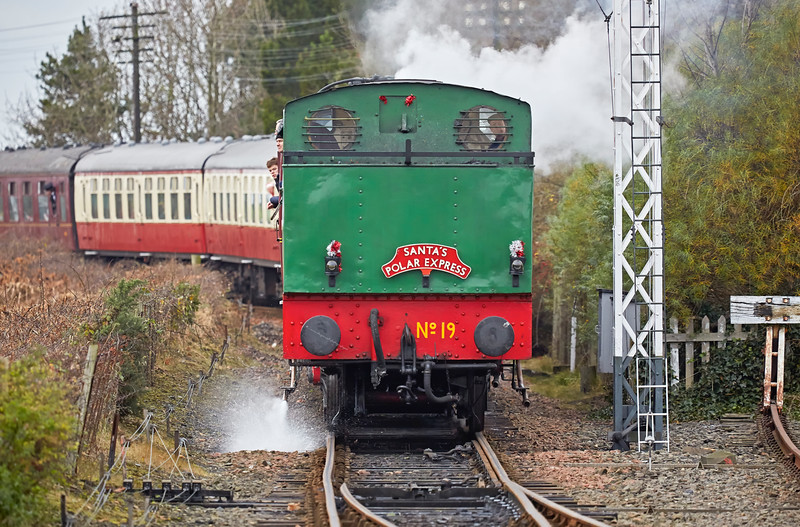 Santa's Polar Express at Bo'ness Station - 18 December 2016