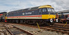 Class 47 diesel locomotive (47643) at Bo'ness - 1 May 2016