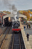 Departure from Bo'ness Station - 30 October 2016