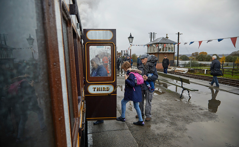 The Caledonian Railway Special at Bo'ness Station - 3 November 2019