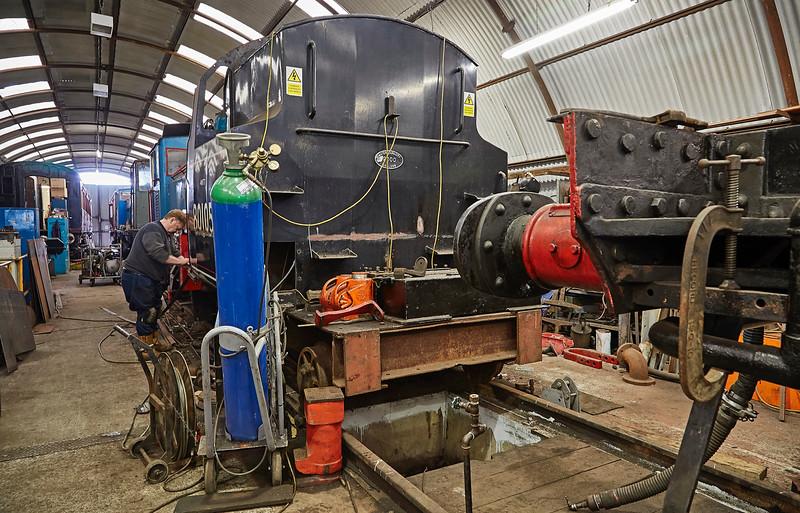 Steam Workshop at Bo'ness Station - 1 April 2017