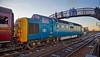 Diesel Locomotive 55022 'Royal Scots Grey' at Bo'ness Station - 28 December 2014