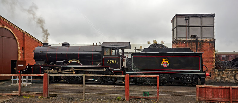 'Morayshire' in Her New Black Livery at Bo'ness Station - 27 April 2014