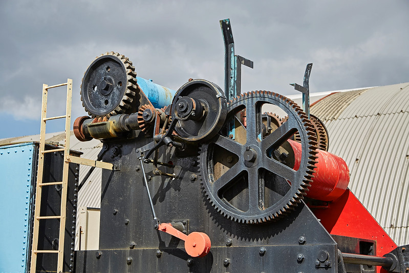 Gears and Wheels at Bo'ness Station - 1 April 2017