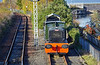 Ruston shunter at Bo'ness Station - 4 November 2018