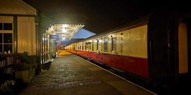 Last Train from Bo'ness Station - 18 October 2014