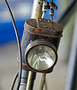 Bicycle Lamp at Bo'ness Station - 28 December 2019