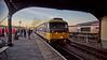 Diesel Locomotive 47603 arriving at Bo'ness Station - 28 December 2014