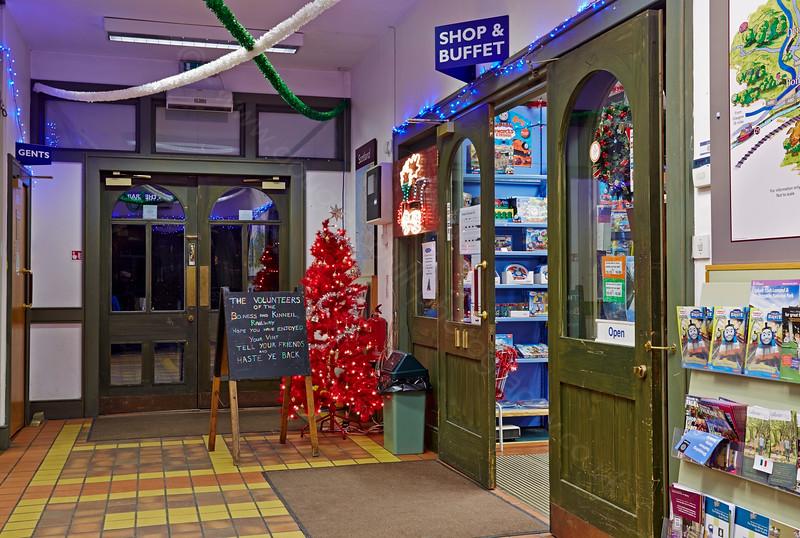 Bo'ness Station - 28 December 2014