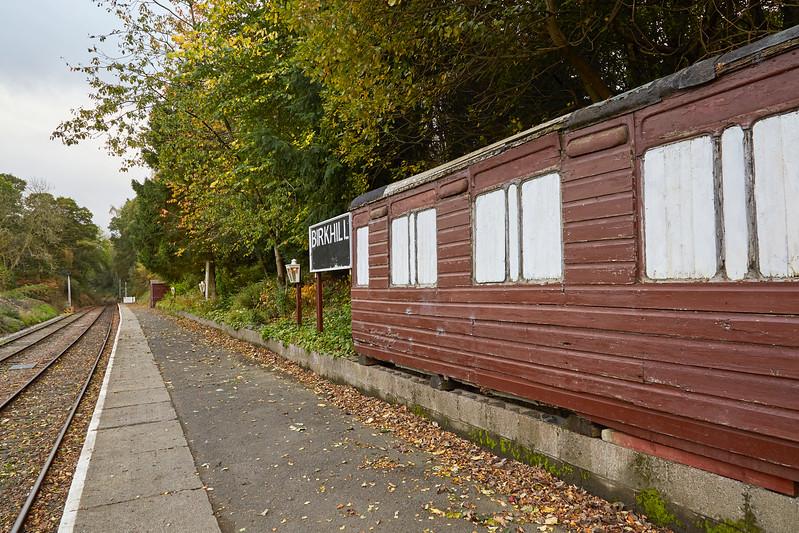 Birkhill Station - 15 October 2017
