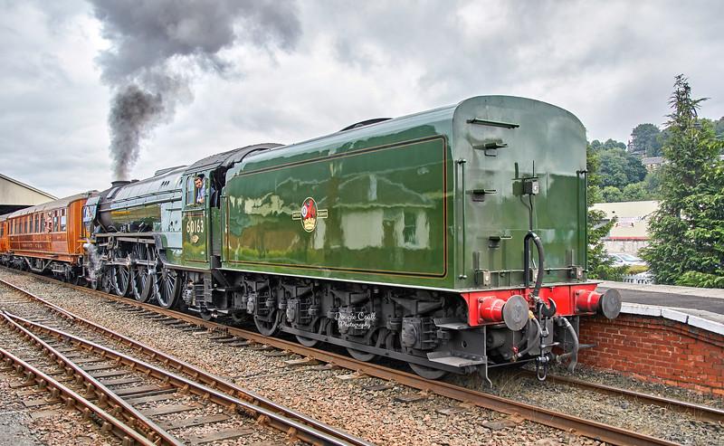 LNER Tornado ( 60163) at Bo'ness Station - 4 September 2021