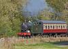 GWR 0-6-2T No. 5643 near Kinneil - 15 October 2017