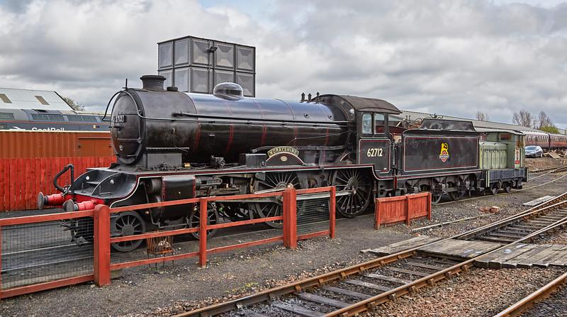 'Morayshire' at Bo'ness - 1 May 2016