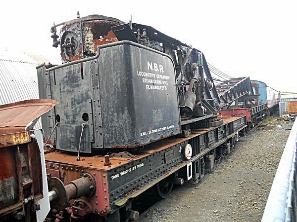 RS1062-36 Breakdown Steam Crane  Bo'ness & Kinneil Railway