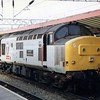 37413 carrying 'Loch Eil Outward Bound' nameplates at Crewe Station