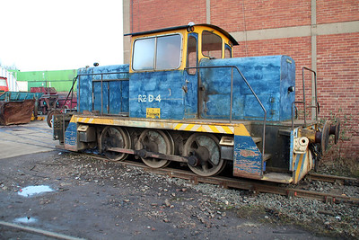 English Electric (EEV) 0-6-0DH 2ZD4 (D1194) at Booths Scrap Yard 16/02/13.