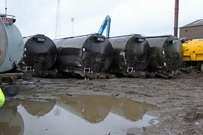 Ex Grangemouth Stored tanks at Booths  26/02/11
