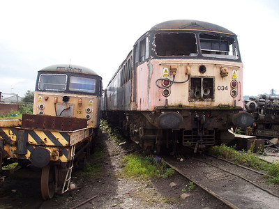 Class 56_56131 and 56034   23/06/07