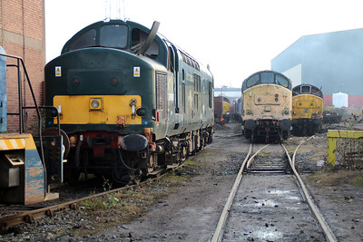 Class 37 Graveyard inc 37411, 37696 and 37417, Booths.