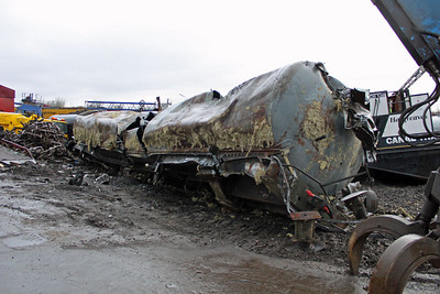Ex Grangemouth Tank at Booths 26/02/11