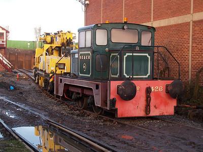 Thomas Hill 4wDH 426 Booths Scrap Yard 12/01/08.