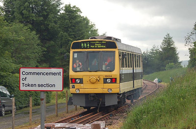 A final shot of RB004 as it approaches the platform on 30th June 2012