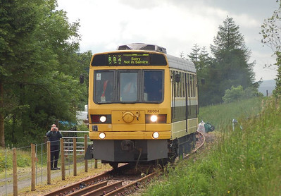 RB004 approaching Whitrope platform on 30th June 2012.