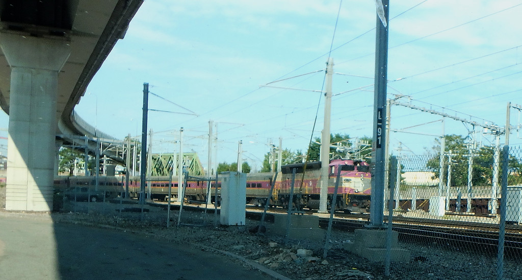 Southside MBTA Storage Yard