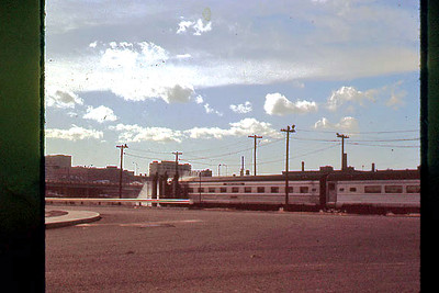 Boston, Mass.  - Penn Central Passenger Cars at the  Car Wash