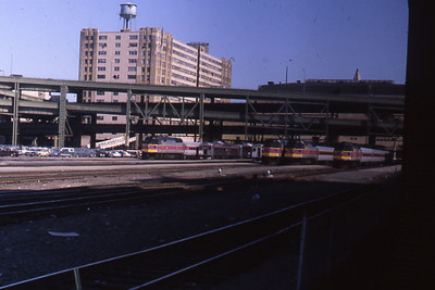 North Station Wide View T Engines