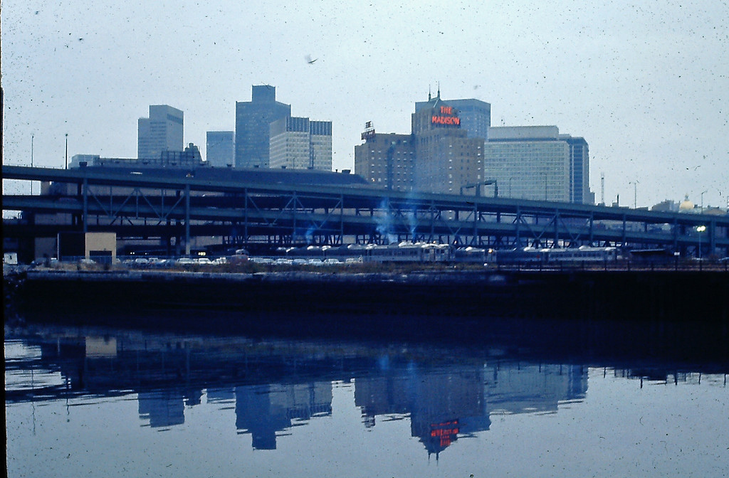 North Station in 1973