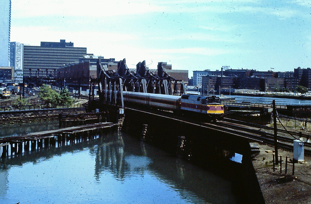 South Station in 1980 Fort Point Channel