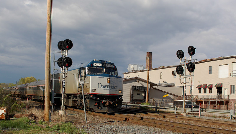Ward Hill - Downeaster Train Number  696