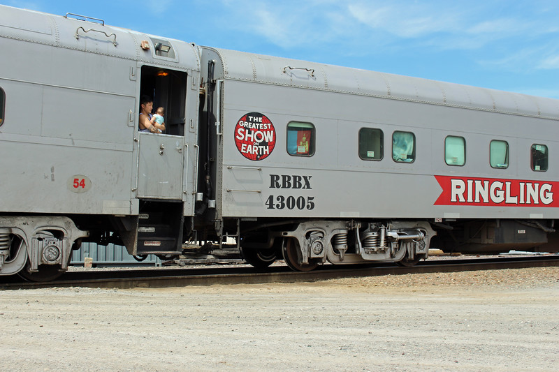 Ayer - The Last Circus Train - Baby in Vestibule