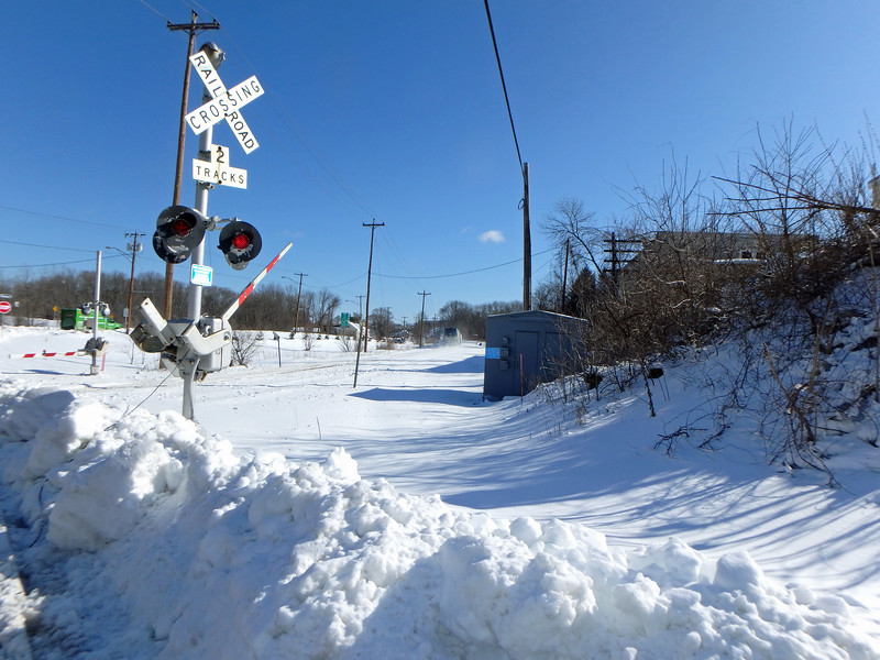 North Andover - Marblehead Street Crossing Train 681