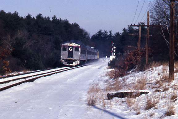 Lowell Jct RDC in Push Pull Mode