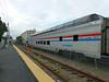 "Haverhill MBTA Station - Amtrak Dome Lounge ""Ocean View"""