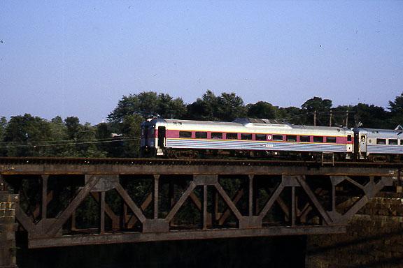 Merrimack River Bridge RDC in 1988
