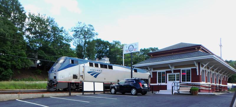 Bradford Depot Amtrak Train 696