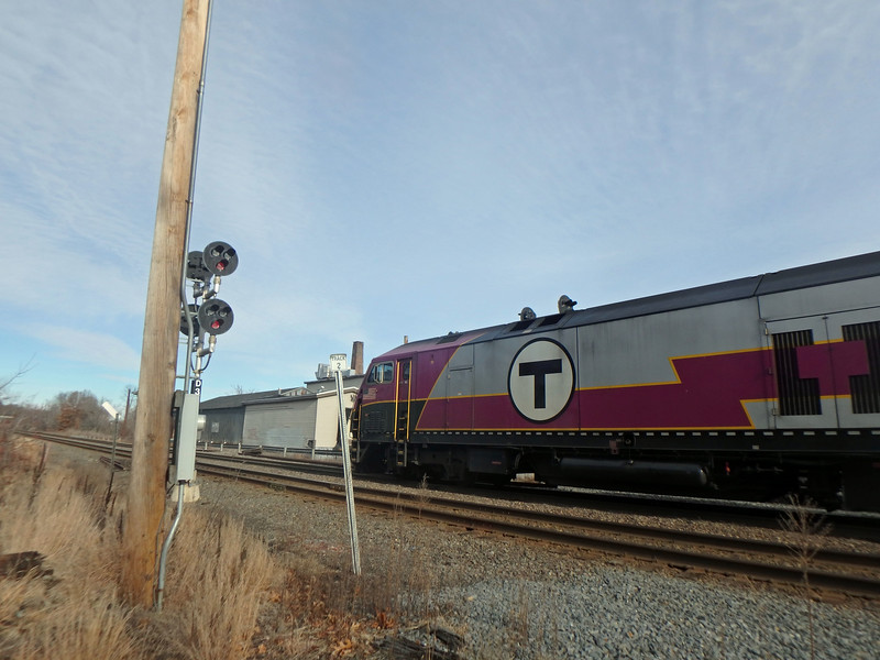 Ward Hill, MA - MBTA Train Number 207