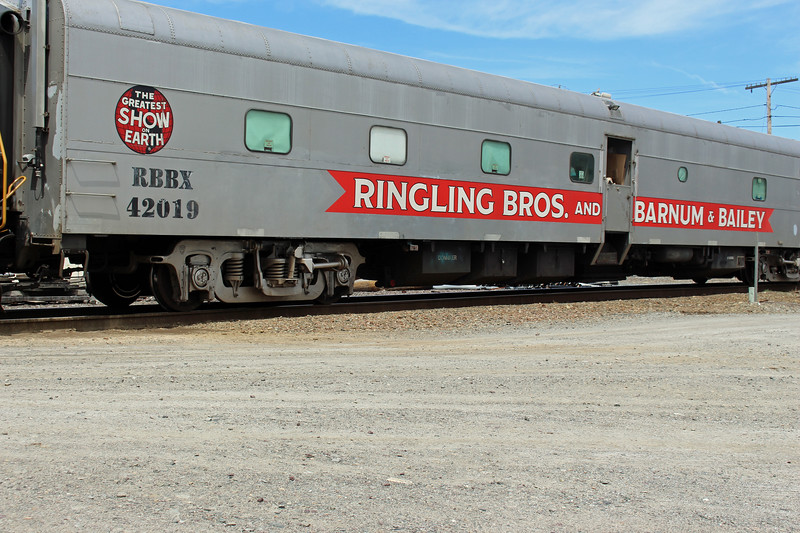 Ayer Ringling Brothers Car 42019