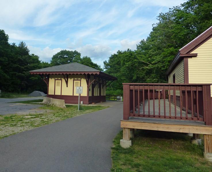 Windam New Hampshire Restored Depot