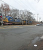 North Andover Westward Freight with CSX Engines