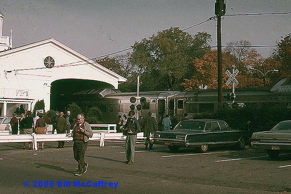 Fan Trip at Lexington Depot in 1973